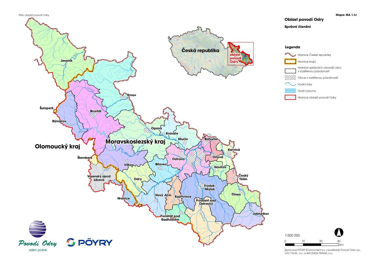 Plan Oblasti Povodi Odry